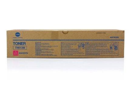 Konica Minolta Laser Toner Cartridge Page Life 25000pp Magenta Ref MINTN612M