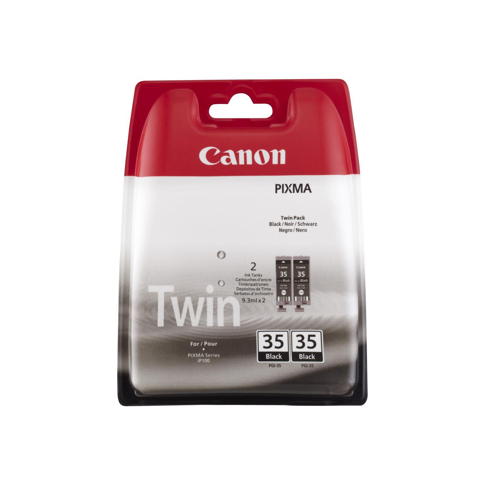 Canon PGI-35BK InkJet Cart PK2 1509B012