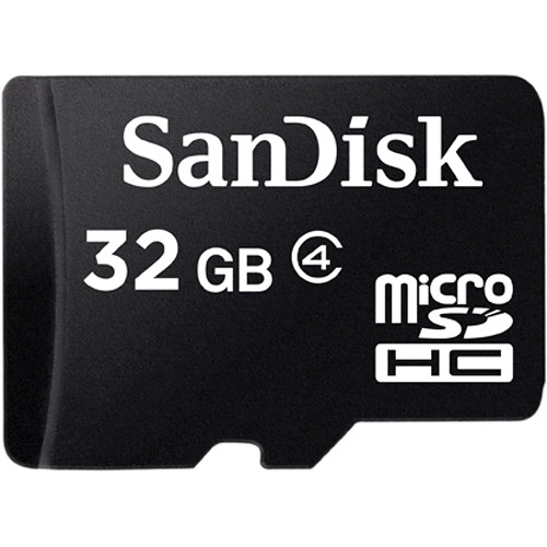 Internal Computer Expansion Sandisk 32GB MicroSDHC Class 4