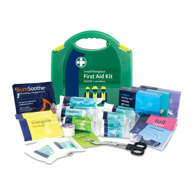 Image for Wallace Cameron BS8599-1 Small First Aid Kit 1-10 Users Ref 1002655