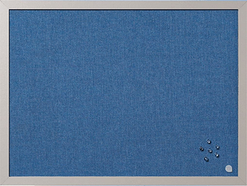 Bi-Office Blue Bells Pearl Notice Board 60x45