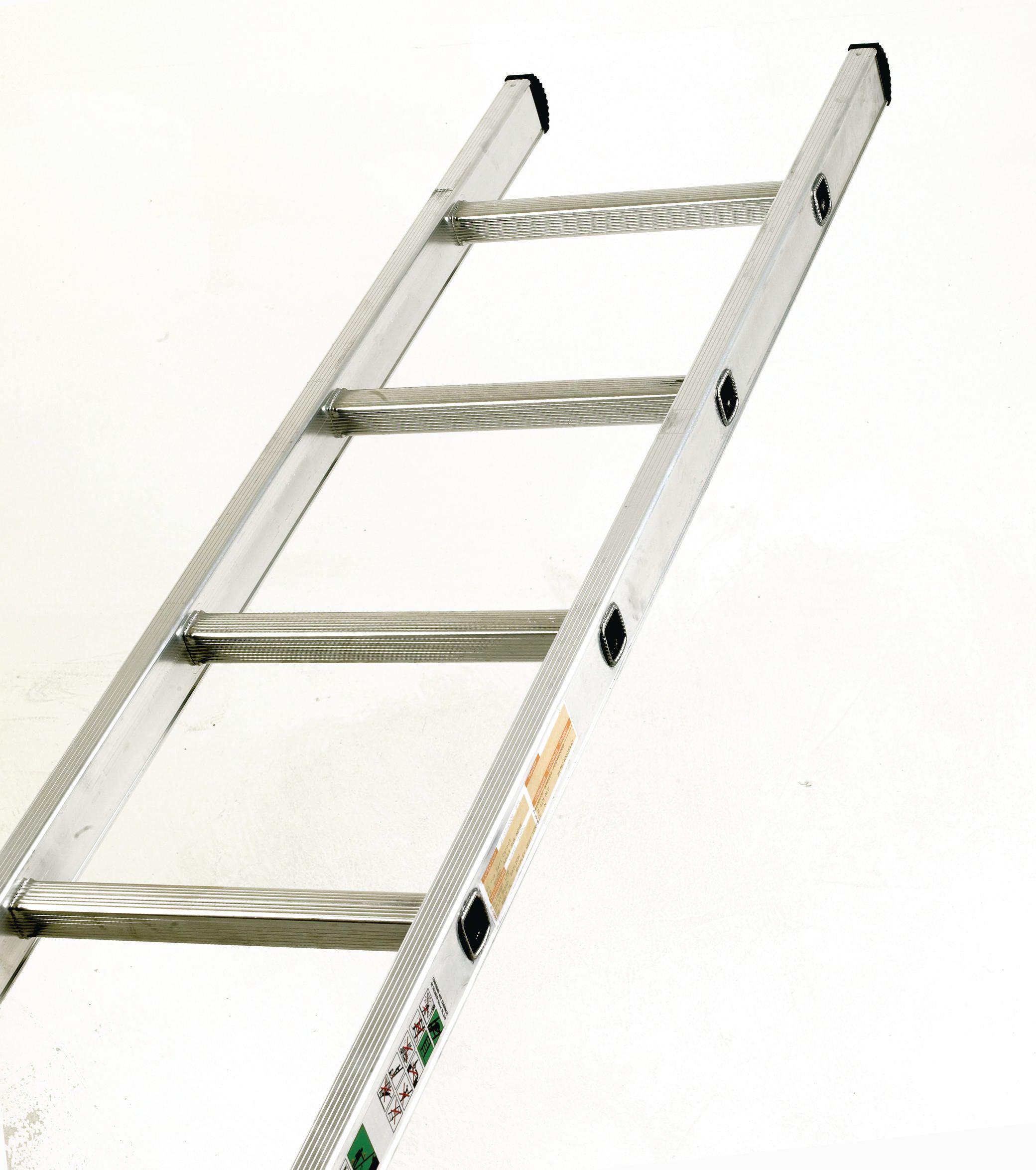 Aluminium Ladder Single Section 10 Rungs