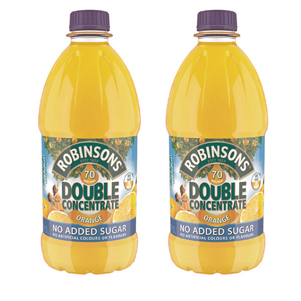 Cold Drinks Robinsons DC NAS Orange 1.75Litre (Pack 2)