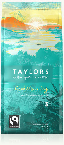 Taylors Fairtrade Organic Ground Coffee