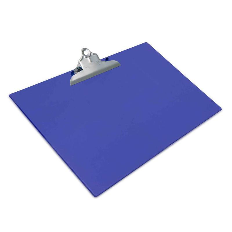 Clipboards Rapesco Standard Clipboard PVC Cover A3 Blue
