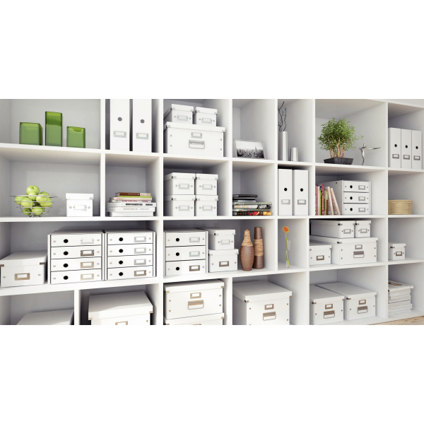 Leitz Click u0026 Store Suspension File Storage Box A4 White Ref 60460001  sc 1 st  Mourne Office Supplies & Leitz Click u0026 Store Suspension File Storage Box A4 White Ref ...