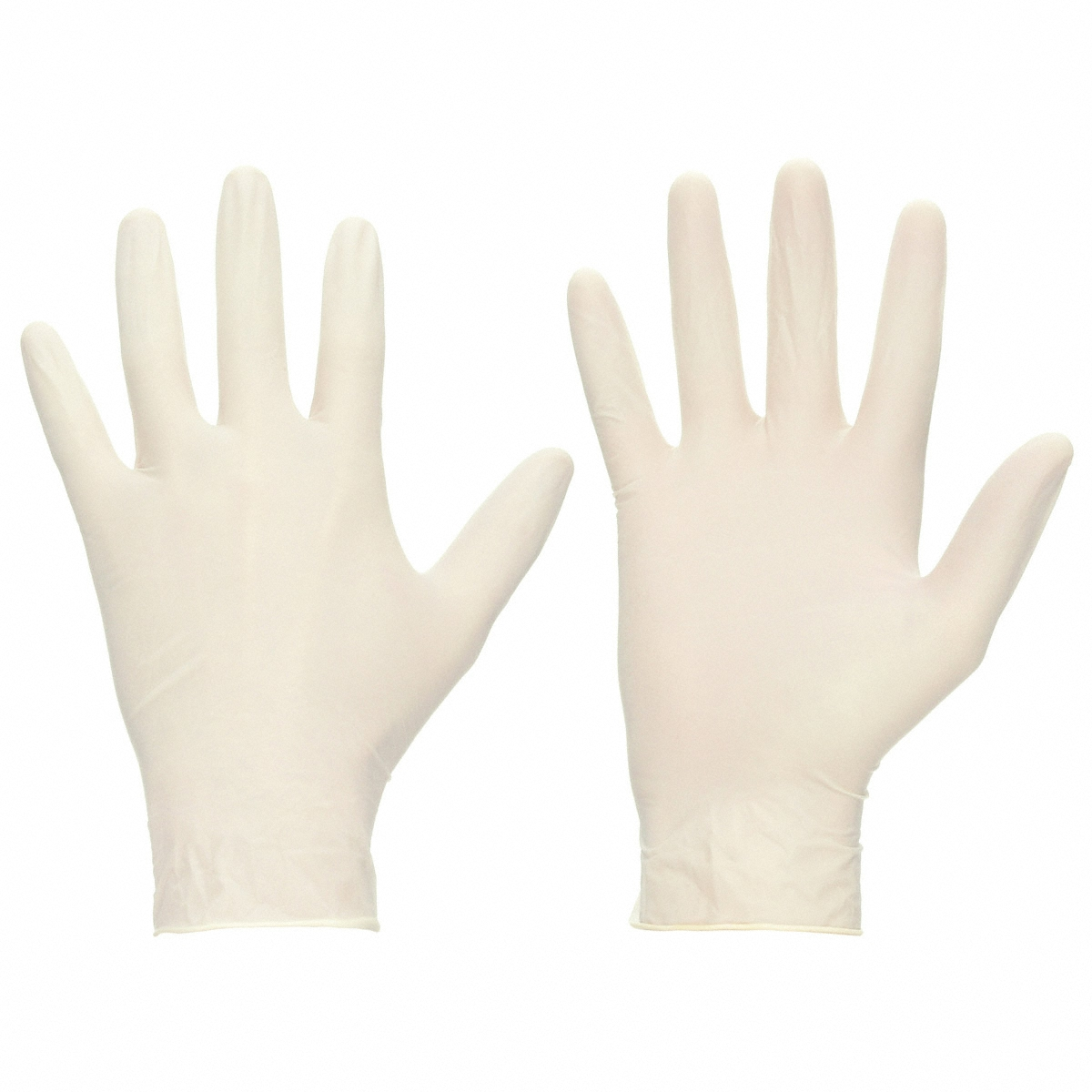 Latex Gloves Powder Free Disposable Large [50 Pairs]