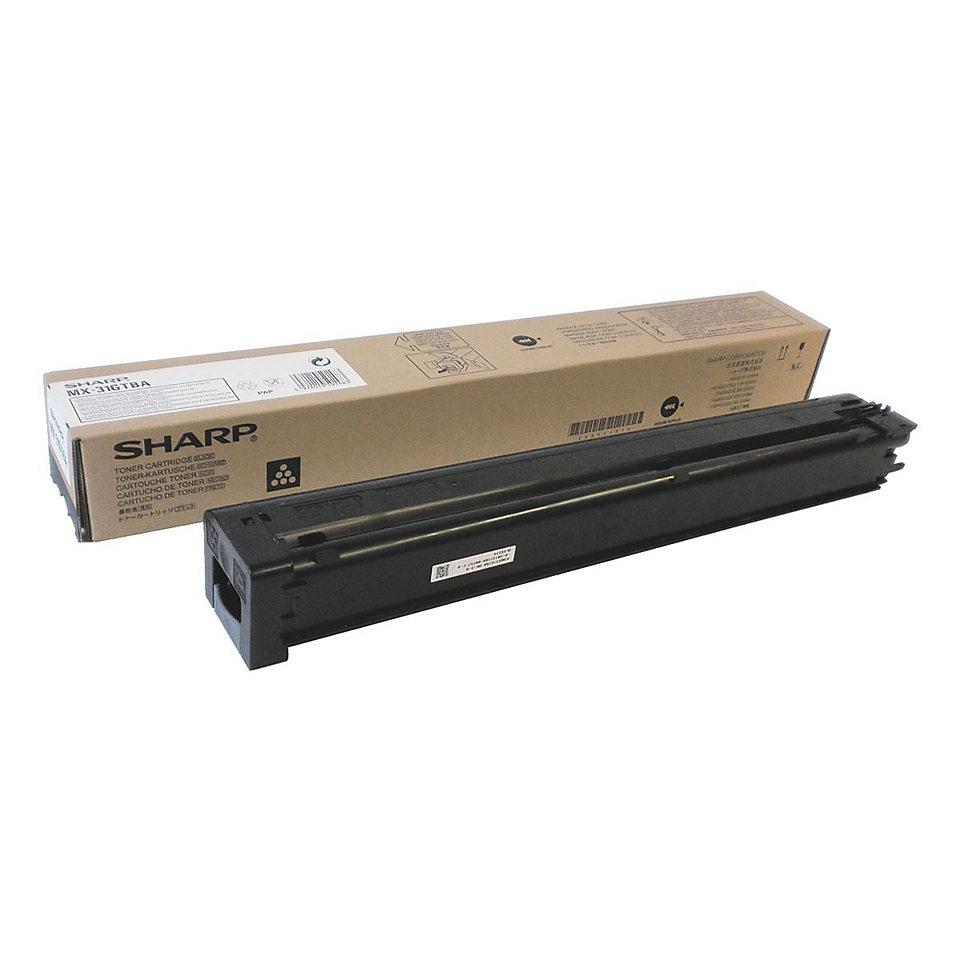 Laser Toner Cartridges Sharp MX31GTBA Black Toner 18K