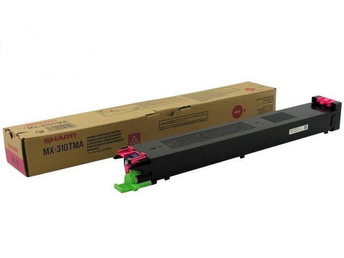 Laser Toner Cartridges Sharp MX31GTMA Magenta Toner 15K
