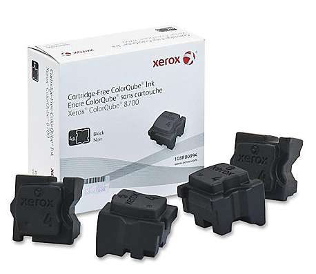 Xerox 8700 Black Ink Sticks (4)