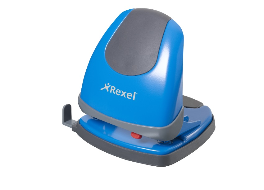 Rexel Easy Touch 2 Hole Punch Blue