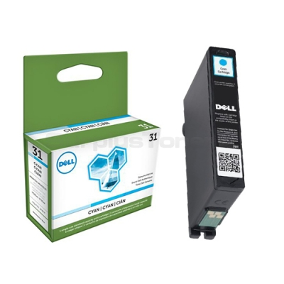 Dell Standard Capacity Cyan Ink Cartridge for V525w/V725w Wireless All-in-One Printers Ref 592-11808