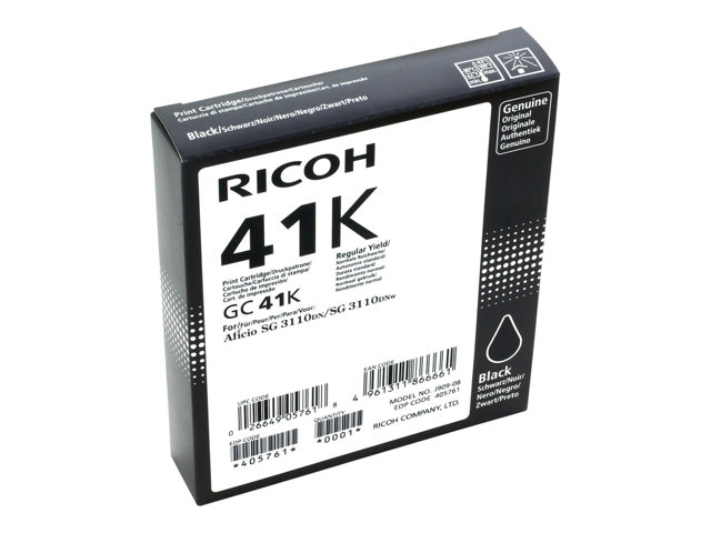 Ricoh (GC-41 K) Black