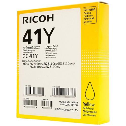 Ricoh 405764 (GC-41 Y) Yellow 2.2K
