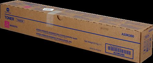 Konica Minolta Laser Toner Cartridge Page Life 25000pp Magenta Ref MINTN321M