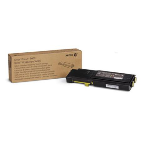 Xerox Phaser 6600/6605 Yellow Toner