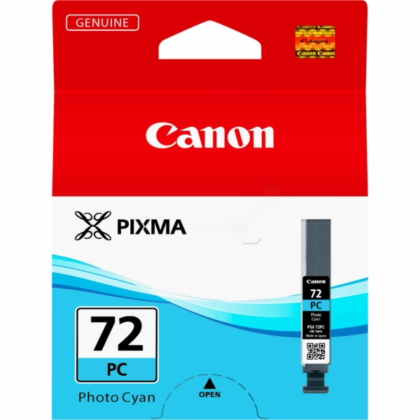 Canon 6407B001 PGI72 Photo Cyan Ink 14ml