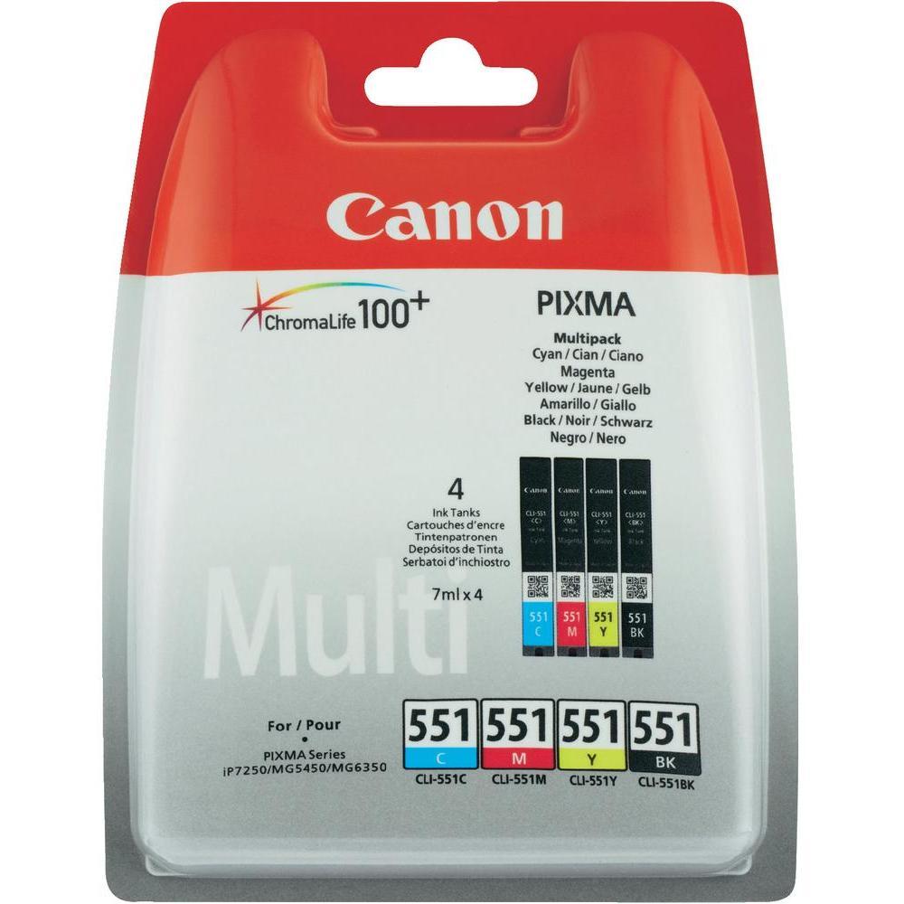 CANON 6509B009 CLI551MULTI PACK CMYK