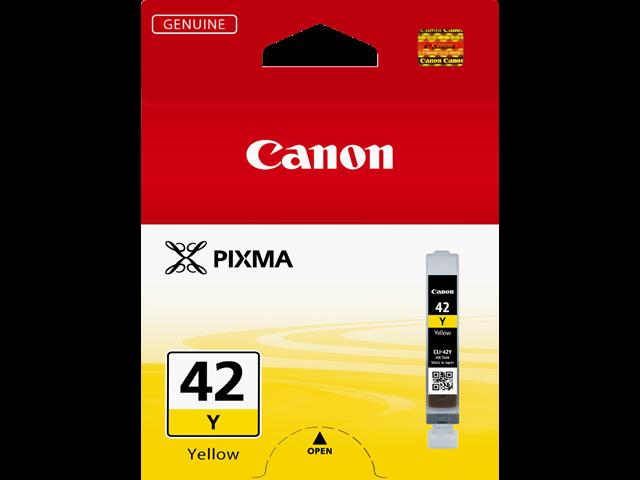 Canon CLI-42Y Inkjet Cartridge Capacity 13ml Yellow Ref 6387B001