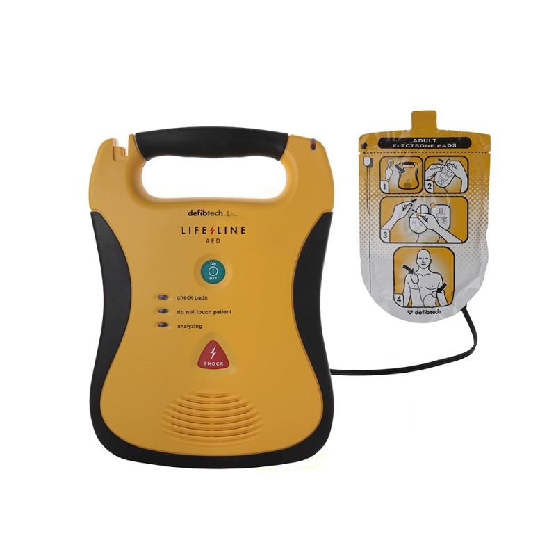 Equipment Wallace Cameron Lifeline Defibrillator Semi Automated