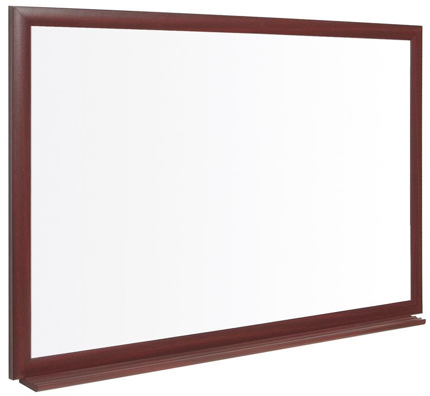 Bi-Office Earth-It Prime Dry Wipe WTBoard Oak Frame 120x90