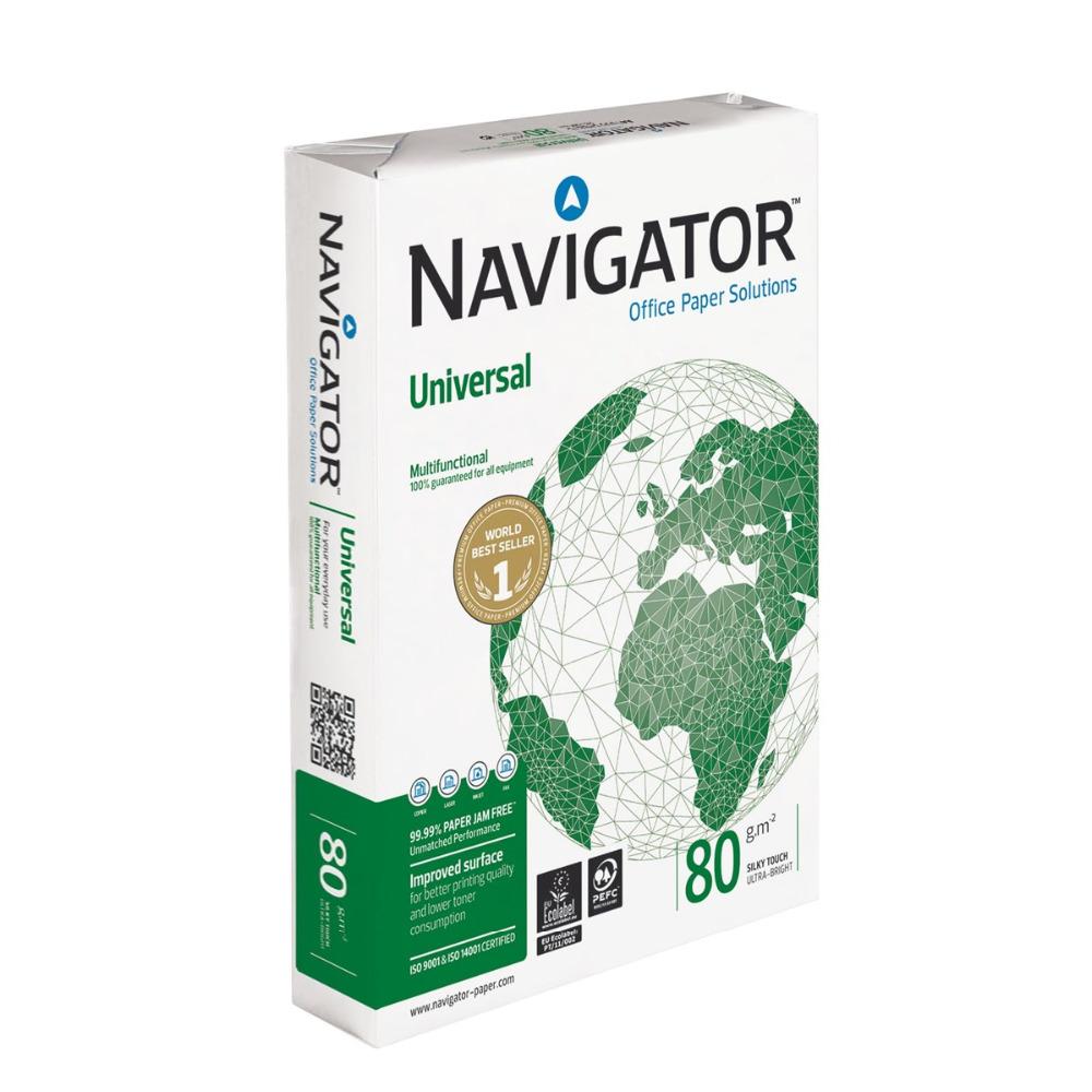 A3 Navigator Universal Paper A3 80gsm White (Box 5 Reams)