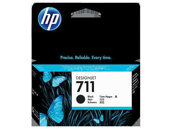 Hewlett Packard [HP] No. 711 Inkjet Cartridge 38ml Black Ref CZ129A