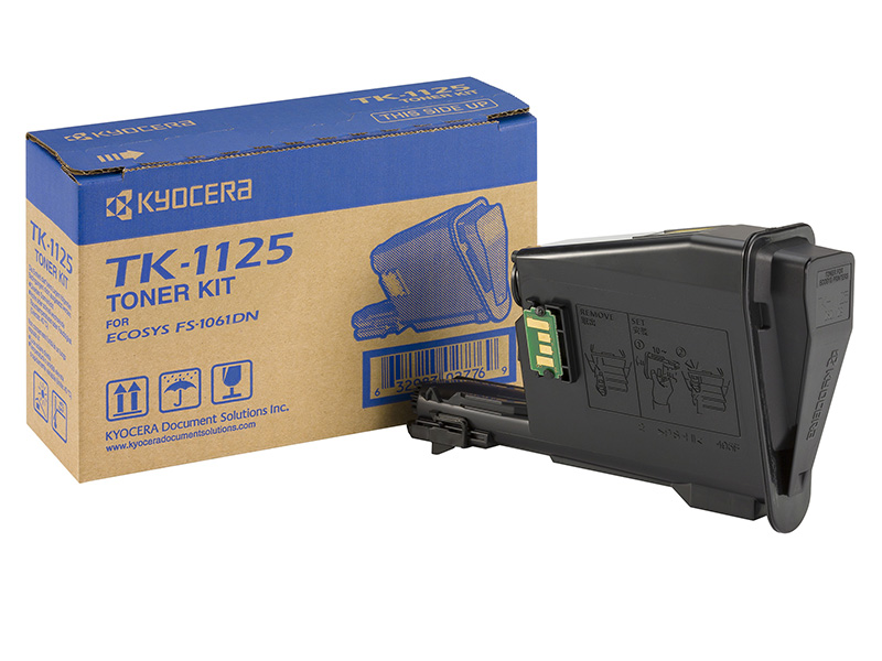 Kyocera TK-1115 Laser Toner Cartridge Page Life 1600pp Black Ref TK-1115-0