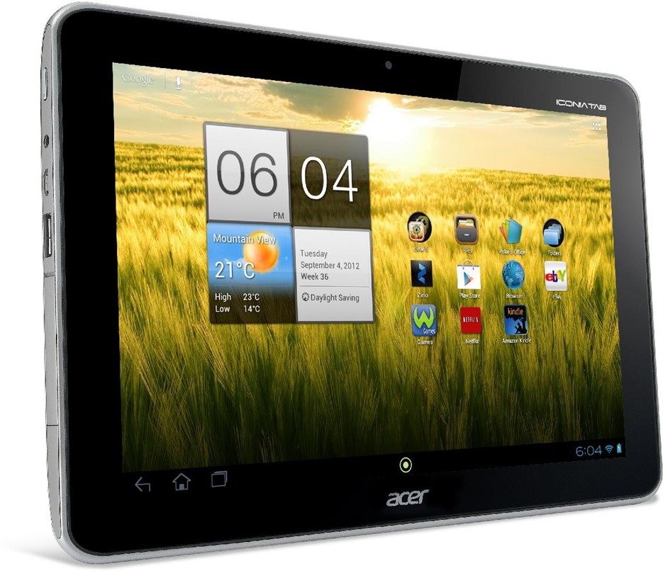 Acer Iconia A210 Grey 10.1in