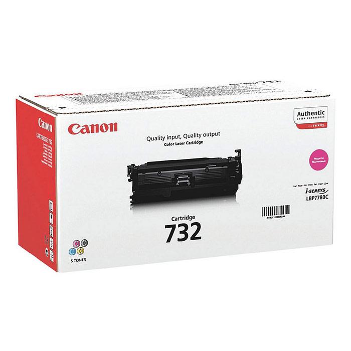 Canon 732 Laser Toner Cartridge Page Life 6400pp Magenta Ref 6261B002