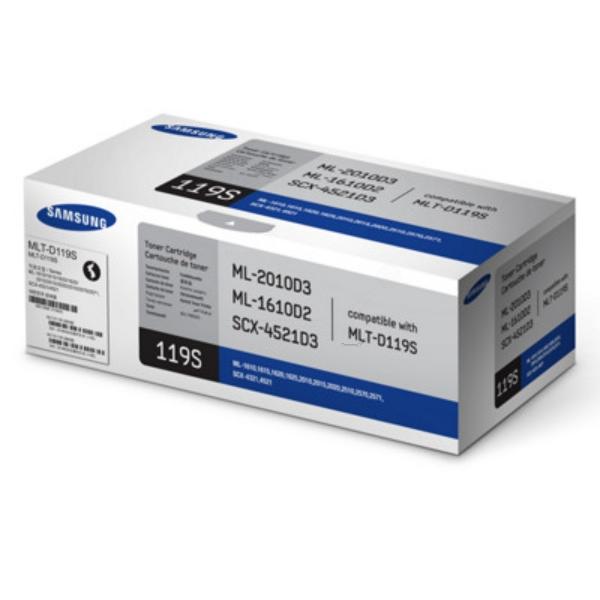 Samsung Laser Toner Cartridge Page Life 1500pp Black Ref MLT-D119S/ELS