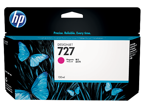 HP 727 Magenta H/Y Designjet Ink B3P20A