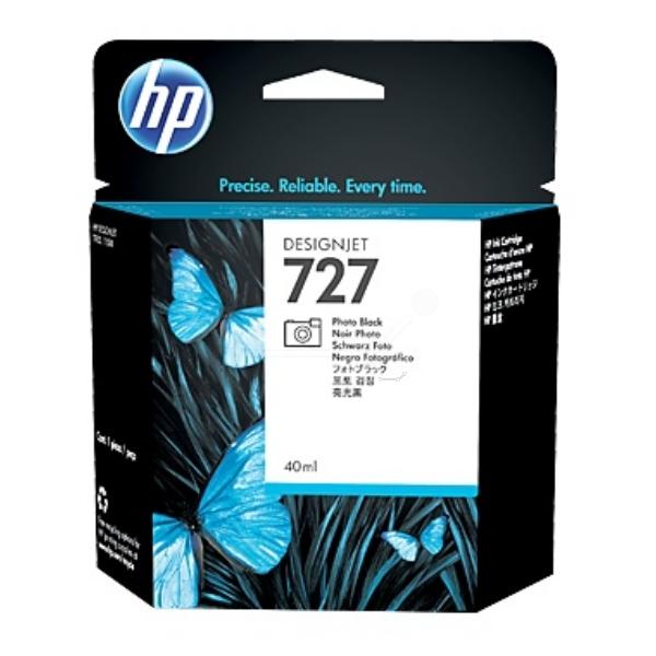 Hewlett Packard [HP] No. 727 Designjet Inkjet Cartridge 40ml Photo Black Ref B3P17A