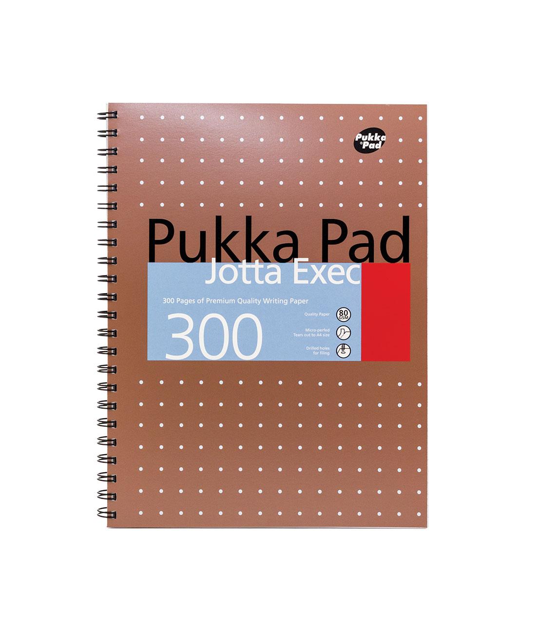 Pukka Metallic Jotta Exec A4 PK3