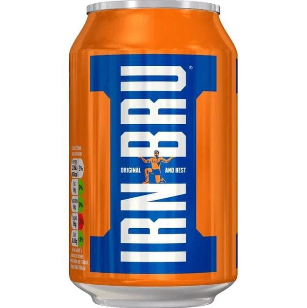 Cold Drinks Irn Bru Drink Can 330ml (Pack 24) 402034
