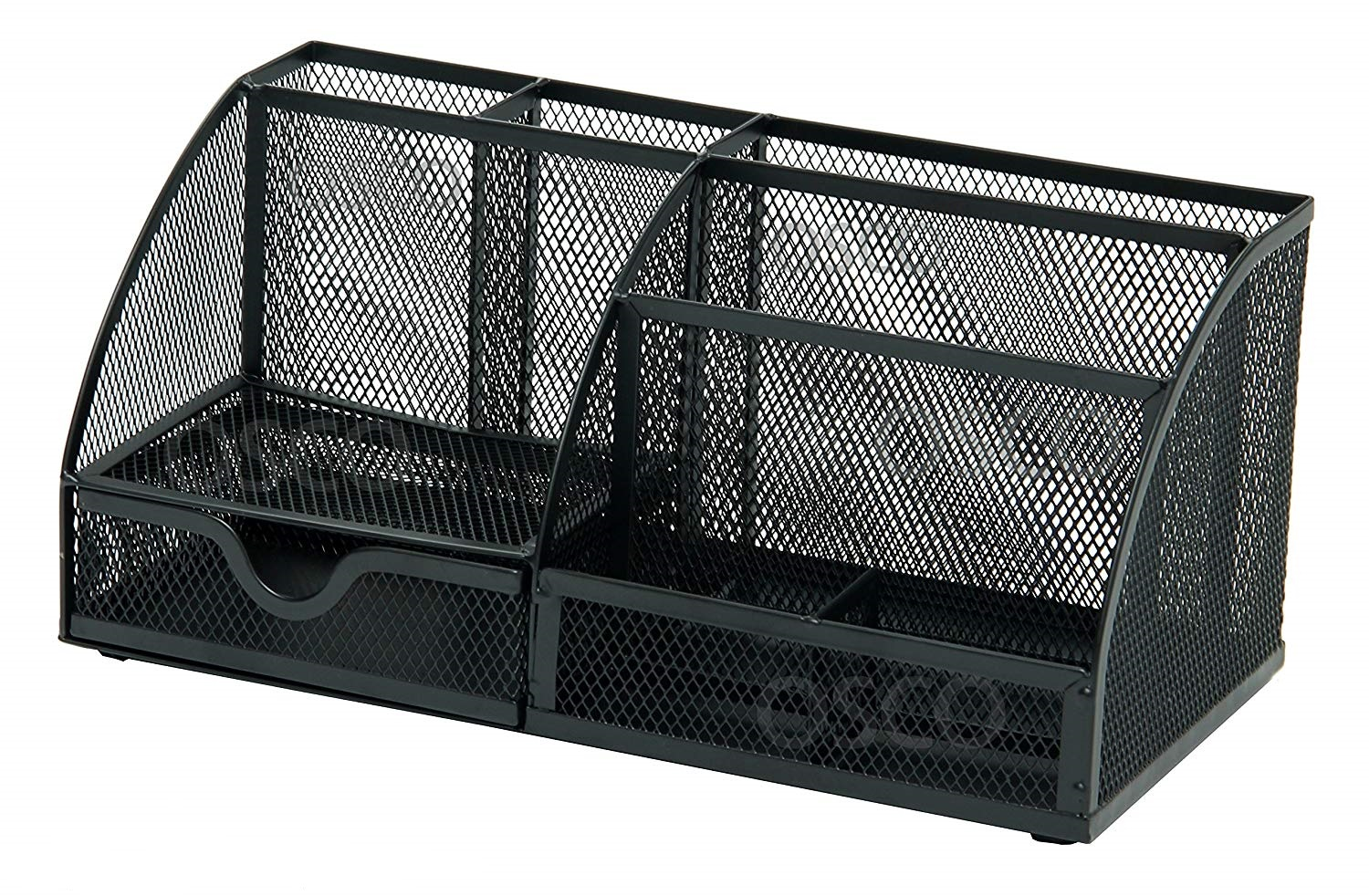 Mesh Desk Organiser Black