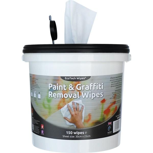 EcoTech Paint & Graffiti Remover Wipes PK150