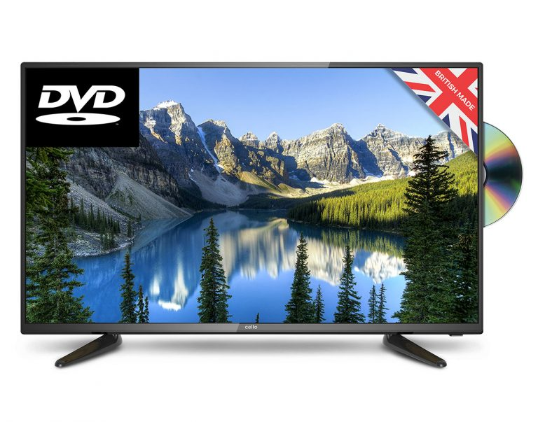 40in FULL HD LED TV with built in DVD