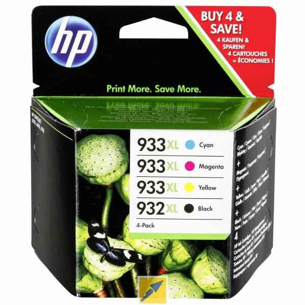 HP 932XL 933XL BK C/M/Y Ink Pack C2P42AE