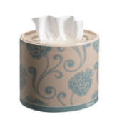 Kleenex Facial Tissue Three-Ply 64 Sheets Oval Box White Ref 8826 [Pack 10]