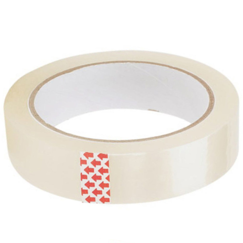 Clear Tape ValueX Clear Easy Tear Tape 24mx66m (Pack 6)