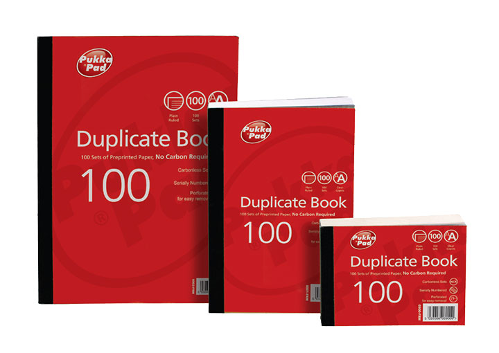 Value Duplicate Plain Book 216x130mm PK5