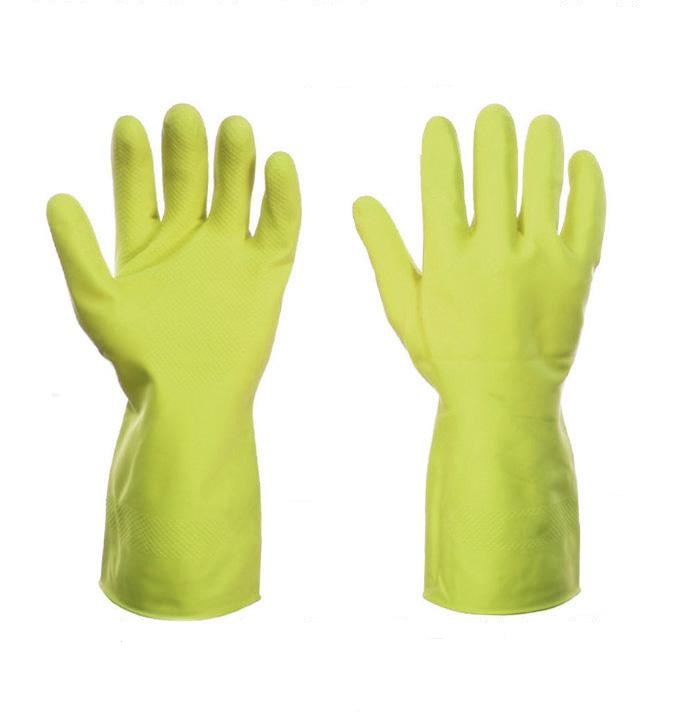 Rubber Gloves Medium Yellow [Pair]