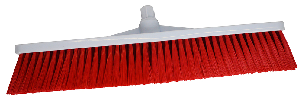 Scott Young Research Hygiene Broom Hard 12 inch Red Ref 883840