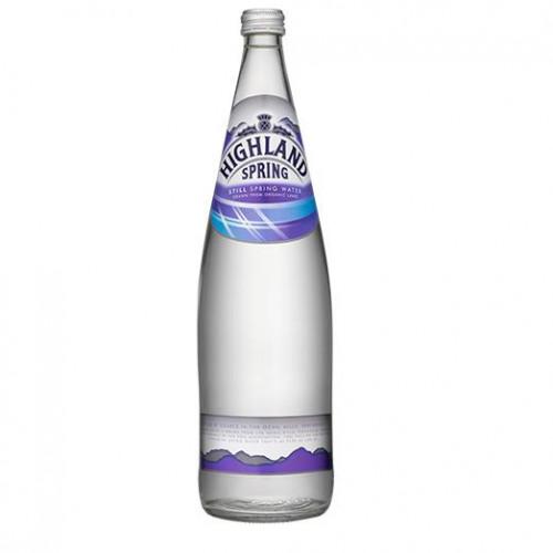 Highland Spring Still Mineral Water 1 litre Ref 22103 [Pack 12]
