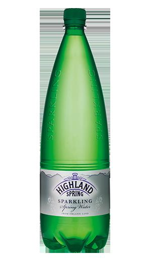 Highland Spring Sparkling Mineral Water 1 litre Ref 21103 [Pack 12]