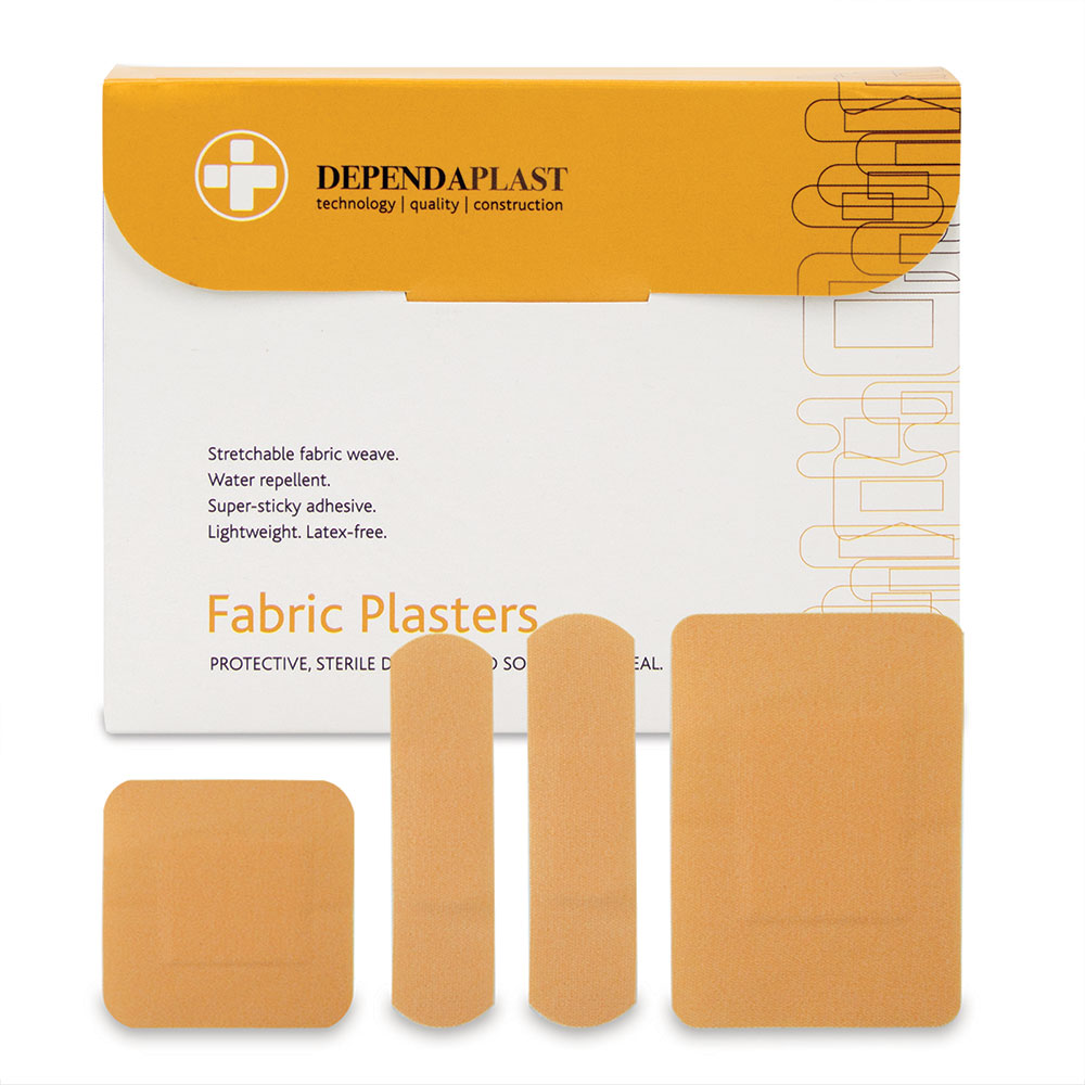 Reliance Dependaplast Fabric Plasters Assorted Sizes PK100