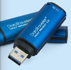 8GB  USB 3.0 DTVP30  256bit AES Enc