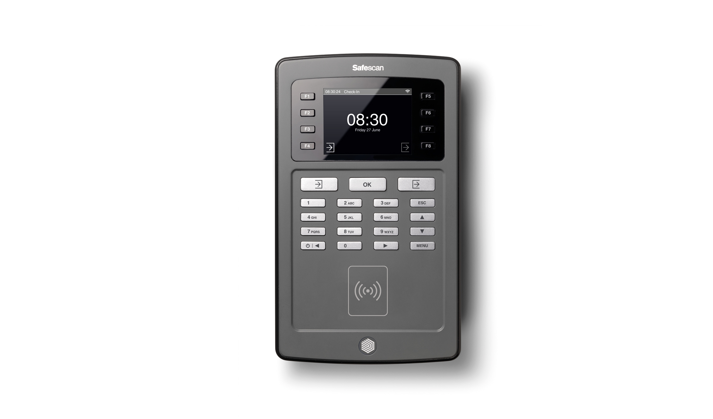 Image for Safescan TA-8015 Clocking In System WiFi Enabled RFID and PCAc Ref 125-0483
