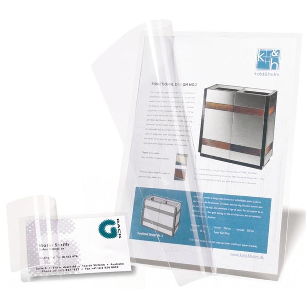 3L Self Laminating Cards 66x100mm 11024 (PK100)
